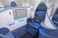 cheap business class on Air Canada