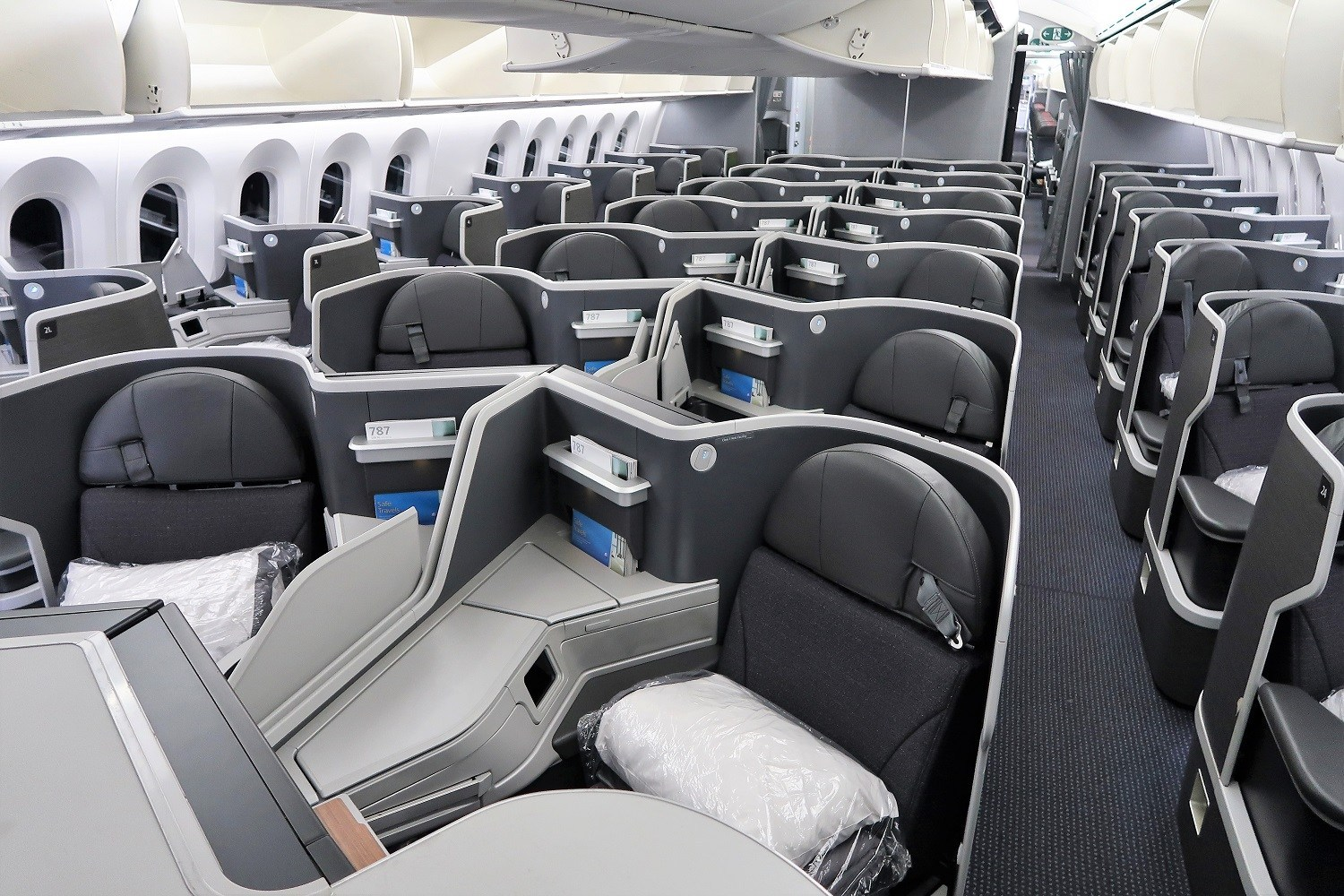 Aeromexico business class seat