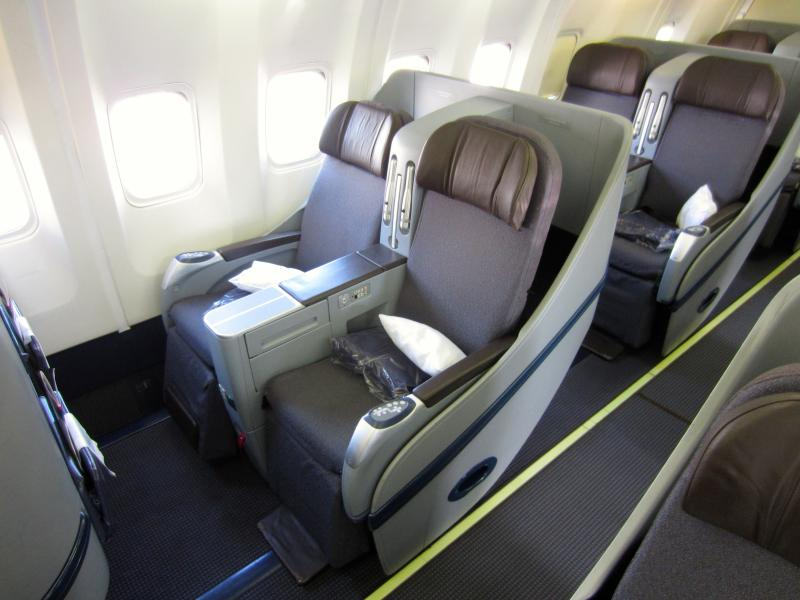 Aeromexico First class seat
