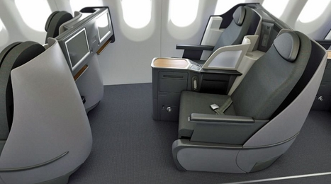 Air China business class seat