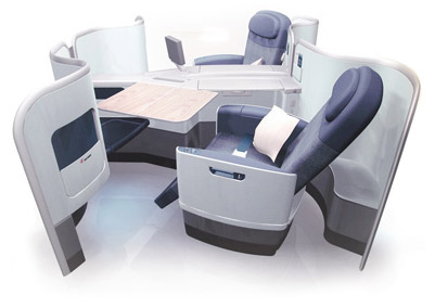 China Airlines First class seat