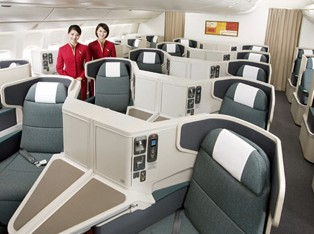 cheap business class on Cathay Pacific