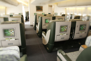 business class flights on EVA Airways