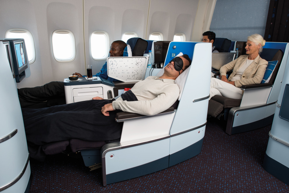 Klm First class seat