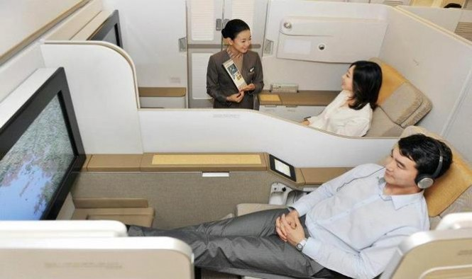 Asiana First class seat
