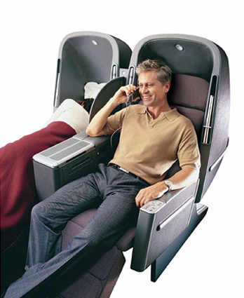 cheap business class on Qantas Airlines