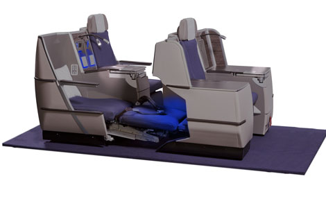 business class on Brussels Airlines Sleeper Seat Long Haul
