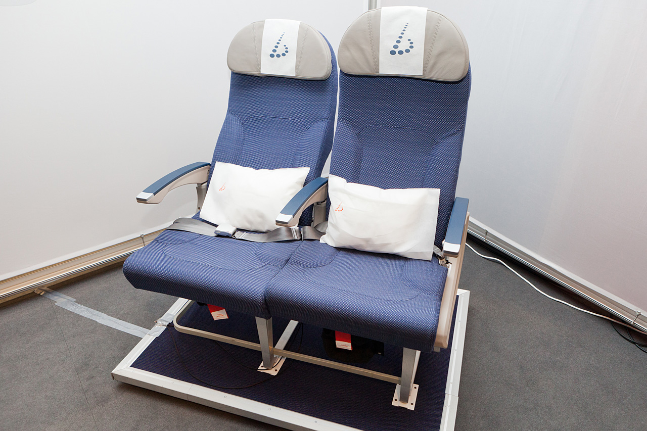 Brussels Airlines economy seat