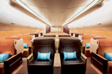 business class on Singapore Airlines