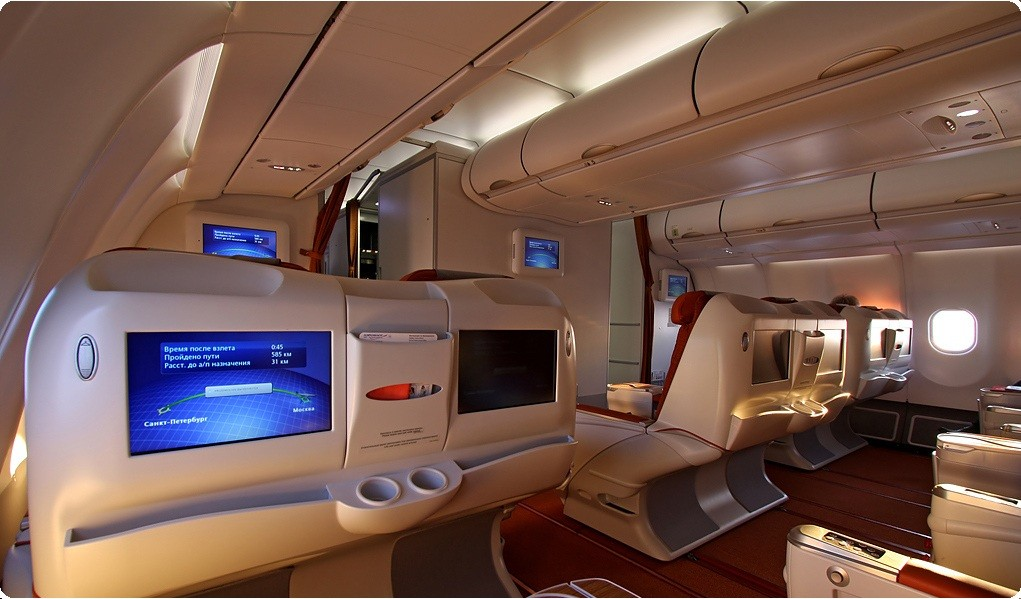 Business Cl Flights On Aeroflot