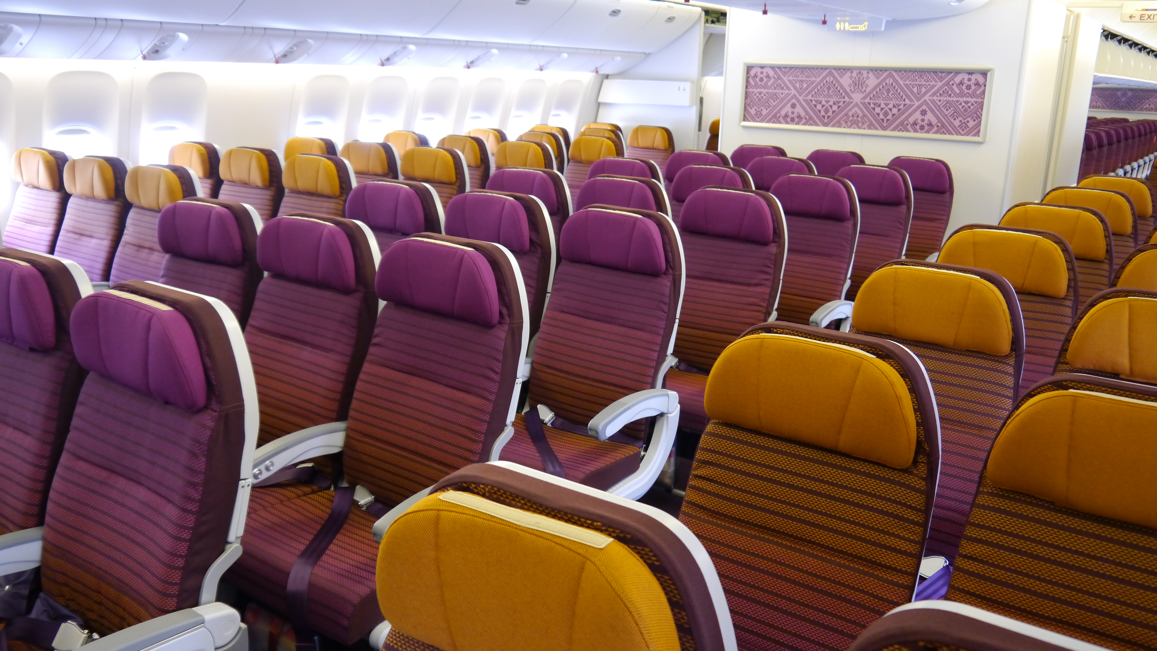 Thai Airways economy seat