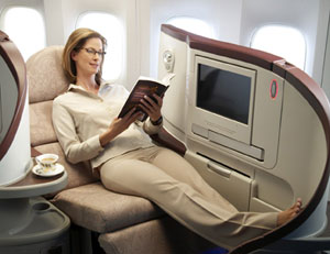 Turkish First class seat