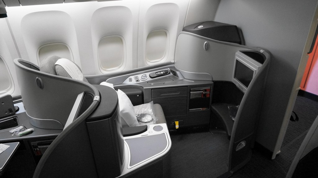 United First class seat