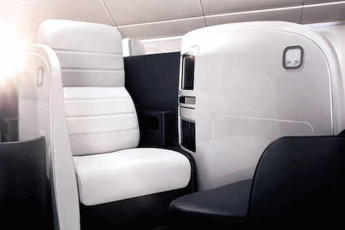 Business Class on Air New Zealand