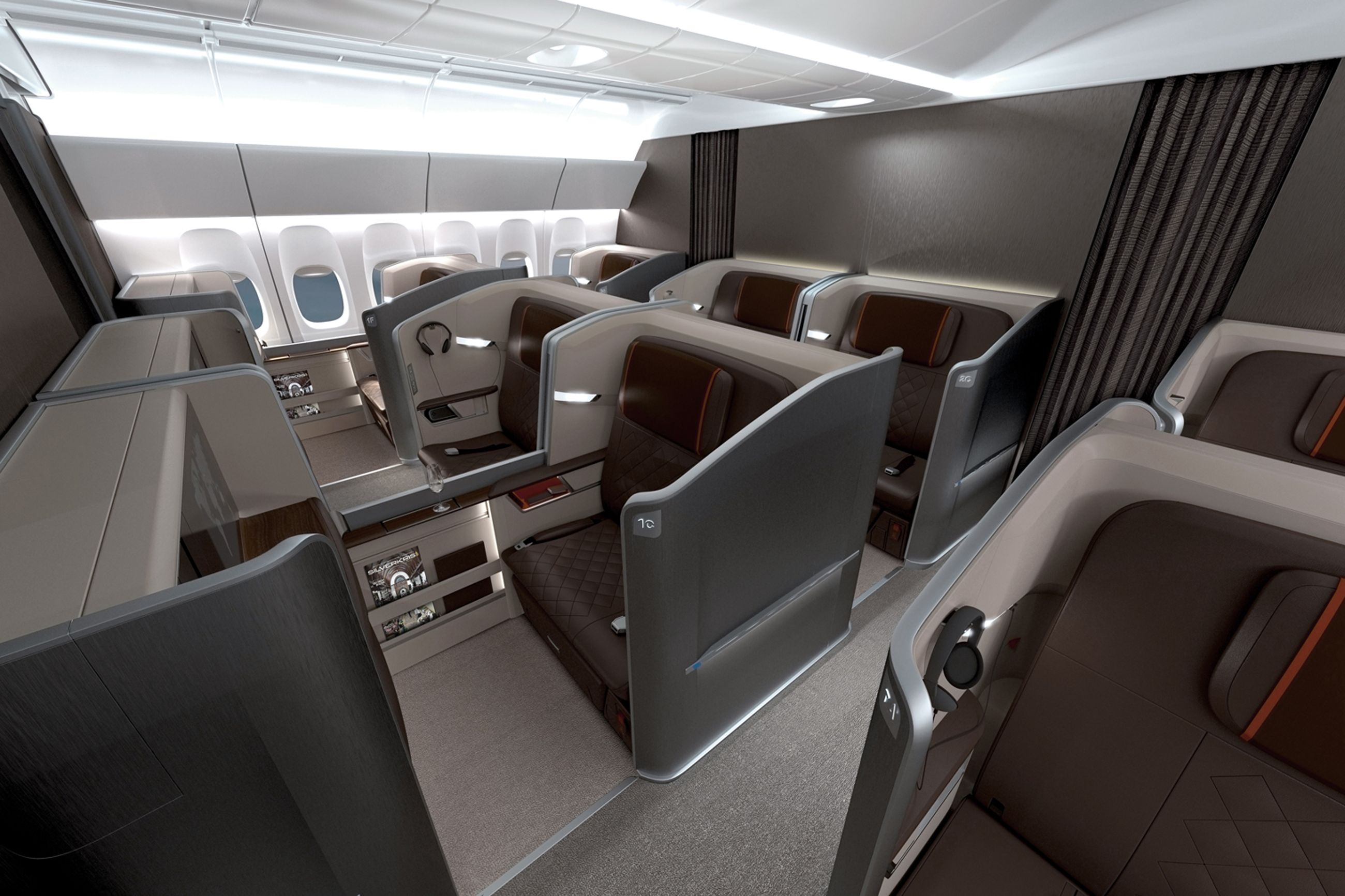 Singapore Airways Business Class
